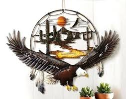 eagle wall art eagle wall decor awesome best game fish sculptures images on metal wall art