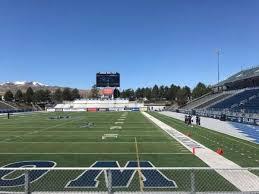 Nevada Wolfpack Football Stadium Seating Chart Mackay Stadium Section Bleachers Home Of Nevada Wolf Pack