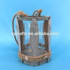 rope hurricane lamp nautical lamps clear glass candle