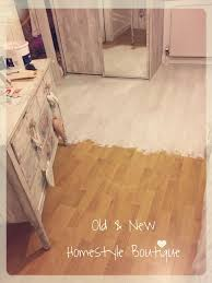 Painting Laminate Flooring   So Quick U0026 Easy To Do With Chalk Paint More