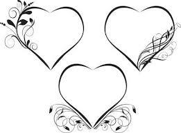 Zwart Wit Hartjes Vectoren Illustraties En Clipart 123rf