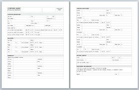 Generic Blank Job Application Free Blank Job Application Form 9 Employment Attorney Letterheads