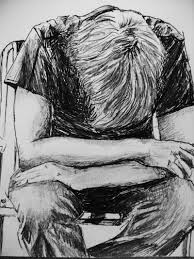 alone boy pencil drawing alone sad pic of pencil art for boys alone boy in the