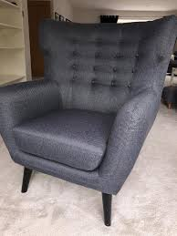 made kubrick wing back armchair
