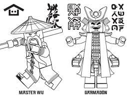 Lego Ninjago Coloring Games Ninjago Coloring Pages Lloyd Garmadon