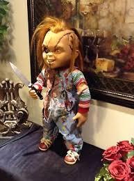 life size chucky doll life size chucky doll sideshow seed of chucky ebay