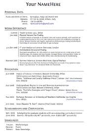 Create A Resume Free Download Resume Template With Proper Way To