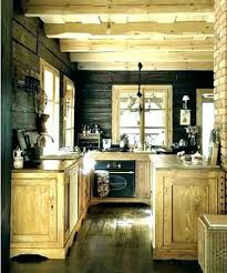 Cabin kitchen design Cool Kitchen Small Log Cabin Kitchens And Integrated Home Cl March Design Ideas No Er Zelinco Small Log Cabin Kitchens Featured Integrated Small Mountain House