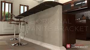 knee wall countertop support bracket the original granite bracket for countertop