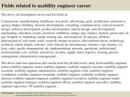 18 fields related to usability engineer usability engineer