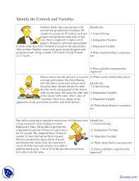 Kids. Scientific Method Worksheets: Simpsons Scientific Method ...