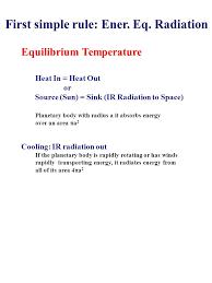 8 equilibrium temperature