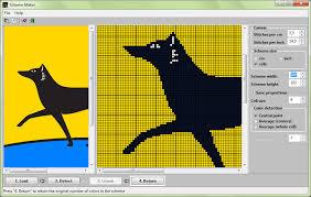 Knitting Chart Maker 30 Comprehensive Knitting Picture Chart Maker
