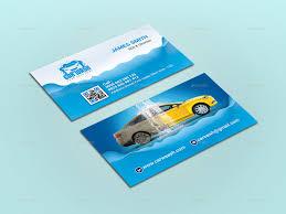 Car Wash Visiting Card Design Car Wash Business Card Ad Wash Sponsored Car Card