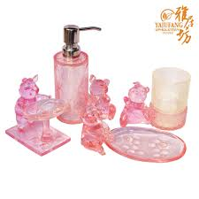 black and pink bathroom accessories. Beautiful Pink Bathroom Accessories Sets And Online Get Cheap Black S
