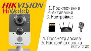 Настройка <b>IP</b>-<b>камеры</b> Hikvision / <b>HiWatch</b>, с картой памяти и Wi-Fi ...