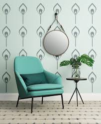 art deco style wall decals