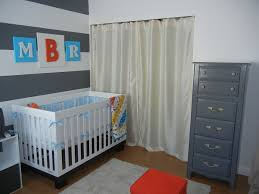 Baby Room:Interesting Attic Gray Baby Nursery Room With Beige Carpet And  White Baby Crib