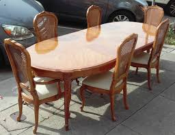 French Provincial Dining Room Sets Uhuru Furniture Amp Collectibles Sold Reduced Thomasville