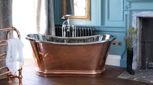 copper bulle freestanding roll top bath