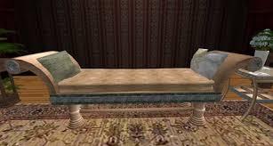 ( D&R Designs Ancient Roman Furniture ) Roman Sofa / Couch Style 1 w/o