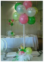 image detail for balloon table centerpiece born to party