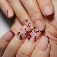 Decorative Nail Art Designs Winter Nail Designs 100 Cute and Simple Nail Art For Winter LadyLife 27