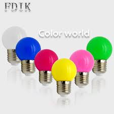 Globe Sm Light Us 5 13 5 Off 1w 3w Colorful Led Bulbs Colorful Globe Bulb Light E27 Mini Bar Lights Holiday Lamps Smd2835 Home Party Decorative Lamp Lighting In