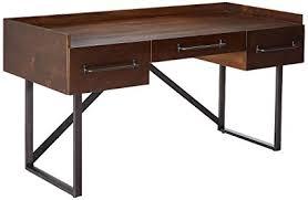 rustic desk home office. Ashley Furniture Signature Design - Starmore Home Office Desk 3 Drawers  W/ Dovetail Construction Rustic Desk Home Office