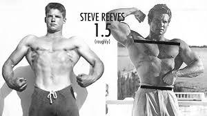 muscle building genetics bone structure v taper steve reeves