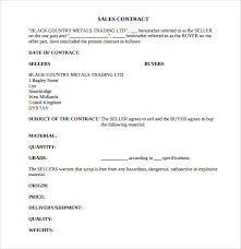 sales contracts sample sample sales contract template 7 free documents download in pdf
