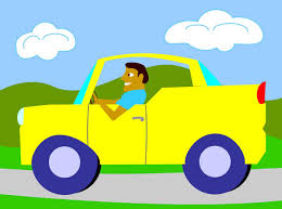 car driving clipart. Wonderful Car Man Driving A Car  Free Clip Art For Clipart