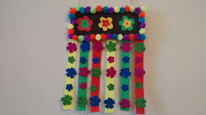 craft idea simple and easy wall hanging idea for kids you pertaining to craft