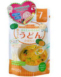 Mì ăn dặm Udon - Vị bí ngô dành cho bé từ 7 tháng tuổi