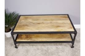 urban retro coffee table mango wood