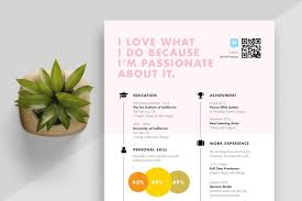 Modern Creative Resume Template 20 Beautiful Free Resume Templates For Designers