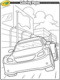 Nascar Stockcar Coloring Page Crayolacom