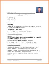 Resume Format Free Download In Ms Word 2010 Chicagoredstreak Com