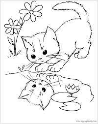 Water Cycle Coloring Pages Printable Water Cycle Coloring Sheets