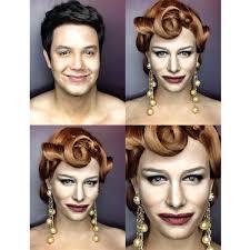makeup artist transforms himself into kim kardashian dakota johnson other female celebrities you gotta see this
