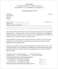 bathroom remodel contract. 9 Remodeling Contract Templates Free Word Pdf Format Download Proposal Template Bathroom Remodel T