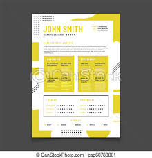 Professional Design Resume Cv Design Professional Resume With Business Details Curriculum And Best Job Resume Vector Infographic Mockup
