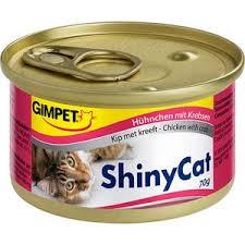 <b>Консервы Gimborn Gimpet ShineCat</b> Chicken with Crab цыпленок ...