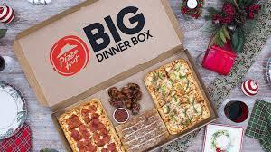 pizza hut puts together big dinner box