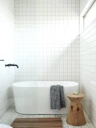 white square tile bathroom. Contemporary White Square Bathroom Tiles Like The All Tile And Height Of  Ceiling In   In White Square Tile Bathroom