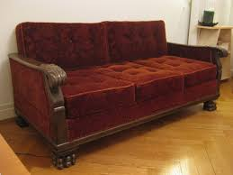 Vintage couch for sale Sectional For Sale Red Velvet Vintage Convertible Couch 200 Chf Lausanne Pertaining To Sofa Decor 19 Varagesale Navy Velvet Sofa Divinodessert Com In For Sale Remodel 11