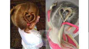 cute easy hairstyles for little girls - YouTube