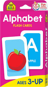 Free Alphabet Flash Cards School Zone Alphabet Flash Cards Ages 3 And Up