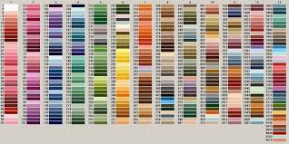 Image Result For Dmc Colour Chart Pdf Anchor Threads