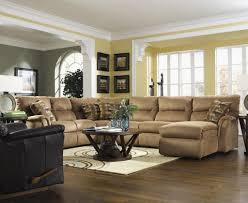 Modern Living Room With Brown Leather Sofa Epic Furniture For Bathroom Decoration With Cherry Wood Bathroom